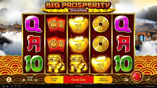 Panduan Dalam Permainan Slot Big Prosperity di SPADE GAMING