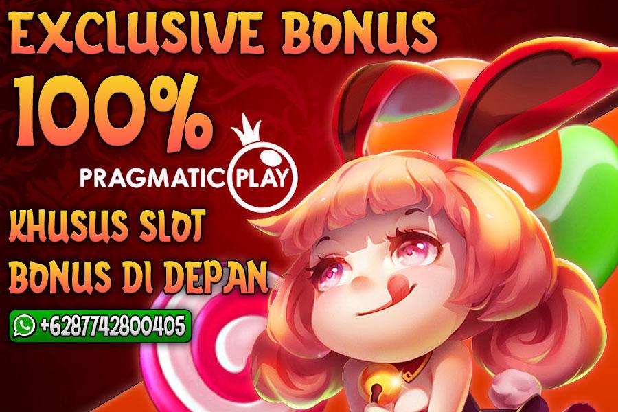 Bonus Member Baru 100% Di Depan Khusus Permainan Slot