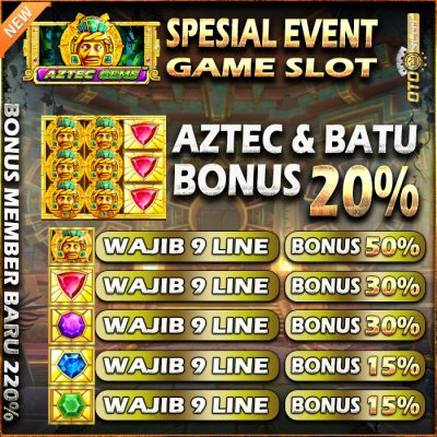 Event Aztec Game Populer di OTOSLOT Paling Populer