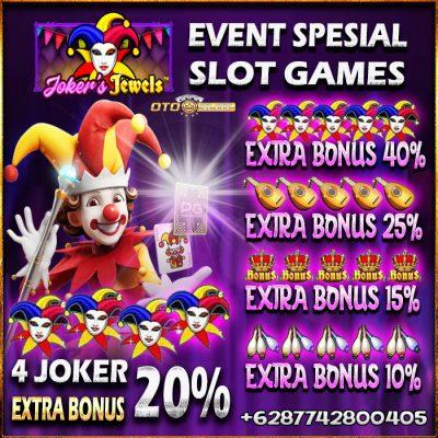 Event Slot Joker Jewels Di Otoslot Dengan Extra Bonus Tambahan